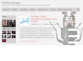 Présentation  FEVIS EUROPE
