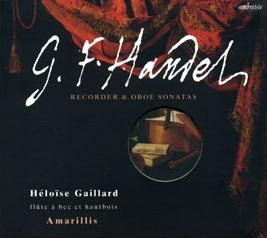 Amarillis - 5 - Haendel sonates