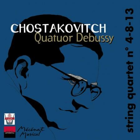 Chostakovitch - Quatuors n°4-8-13