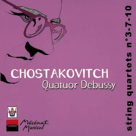 Chostakovitch Quatuors n°3-7-10