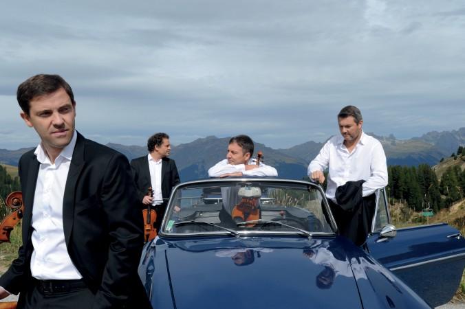 Quatuor Debussy © Bernard Benant