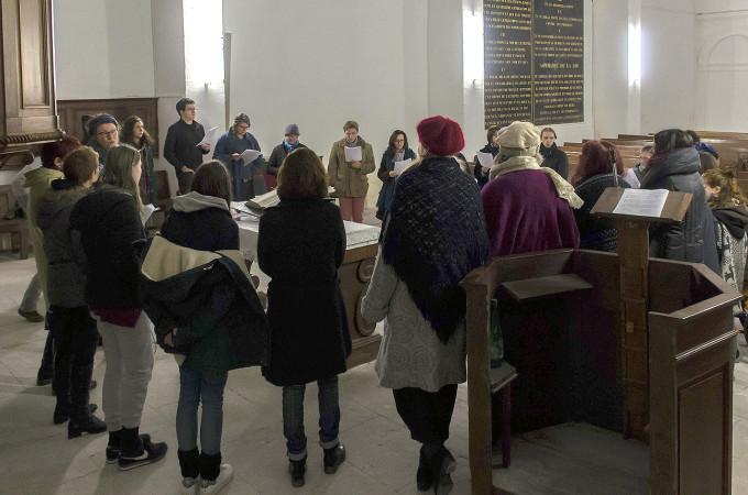 Mora Vocis : stage de chant pour un Noël médiéval