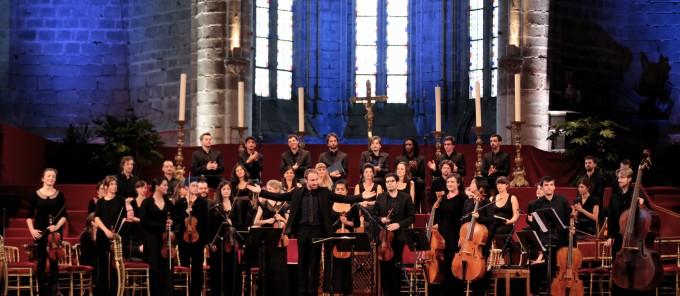 La Tempête, compagnie vocale et instrumentale, concert festival de la Chaise Dieu