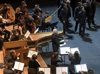 Musique à Versailles, une journée avec le Roi-Soleil Les Arts Florissants William Christie Philarmonie de Paris Le : 04 12 2015 © Pascal GELY
