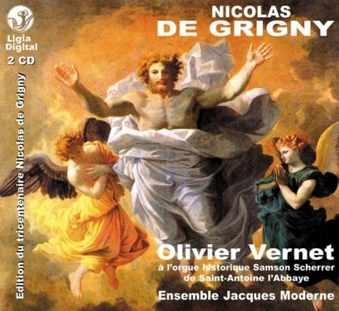 N de Grigny - livre d'orgue