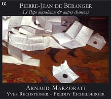 Béranger : le pape musulman et autres chansons