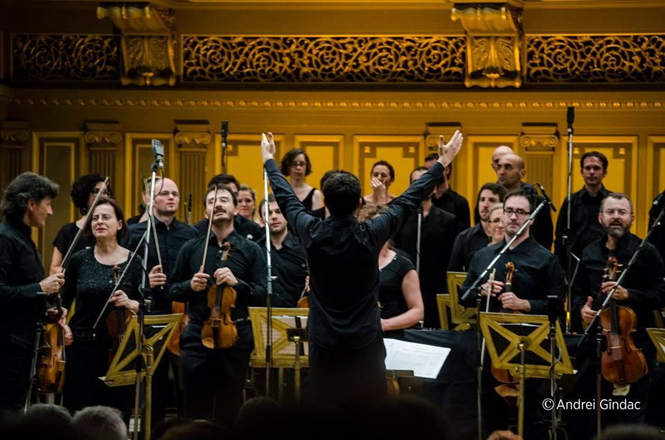 Ghislieri Choir & Consort au Festival G. Enescu, Bucarest