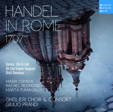 Cover CD Handel in Rome - Ghislieri