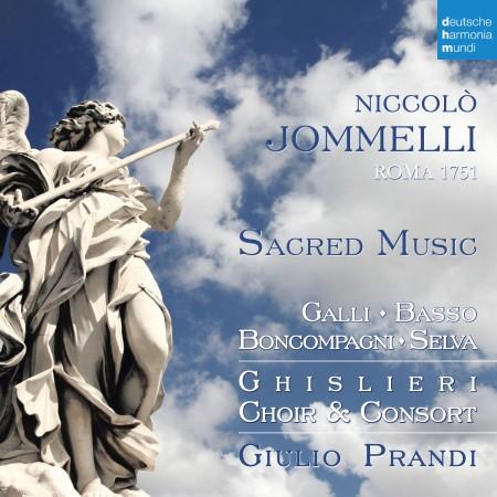 Cover du CD Jommelli - Ghislieri