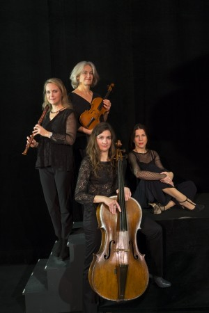 PARIS , FRANCE,  le20/11/2015 Le groupe de musique Baroque AMARILLIS