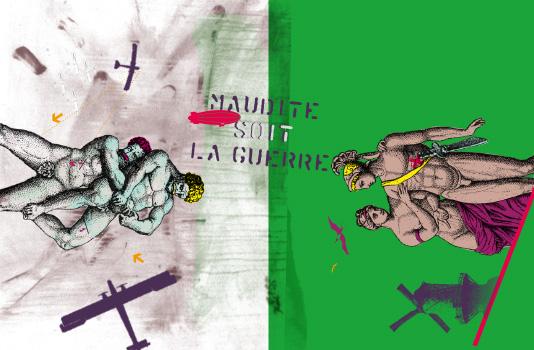 2e2m-Maudite soit la guerre © 2e2m / Atelier Champion