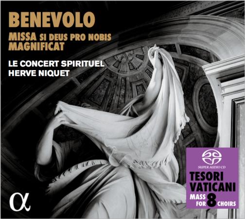 Cover CD Benevolo Missa