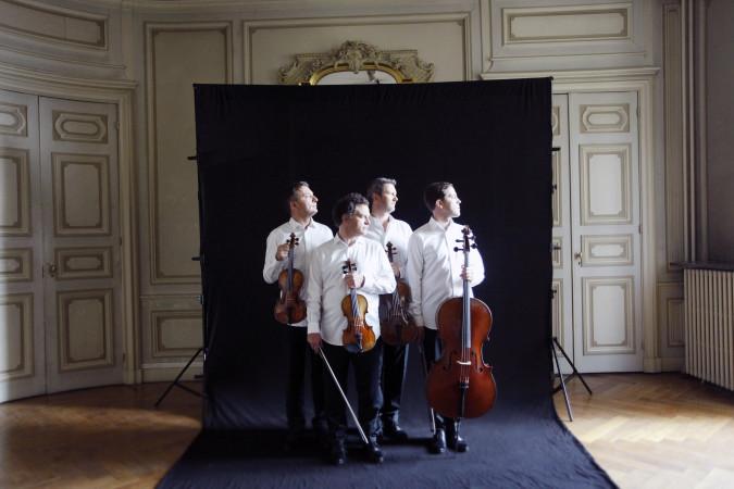 Quatuor Debussy 2018 (Credit Bernard Benant) (1)