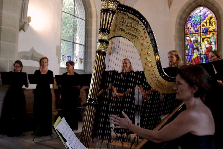 voix et harpe