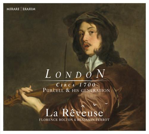 Pochette du CD Londres 1700 de l'ensemble La Rêveuse