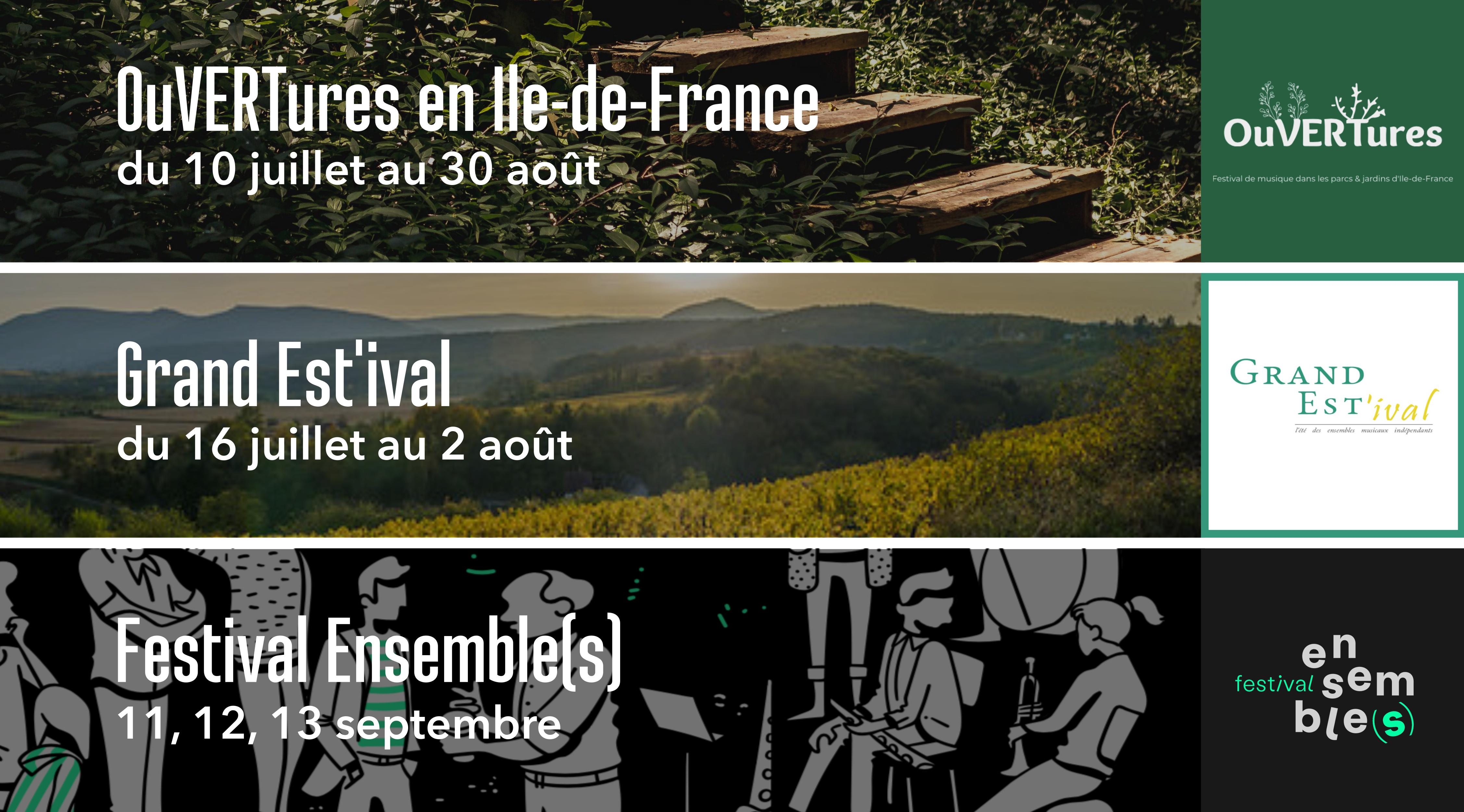 Festivals · Eté 2020