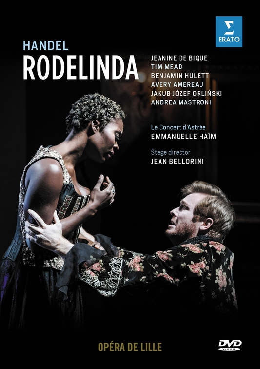 Cover DVD Rodelinda