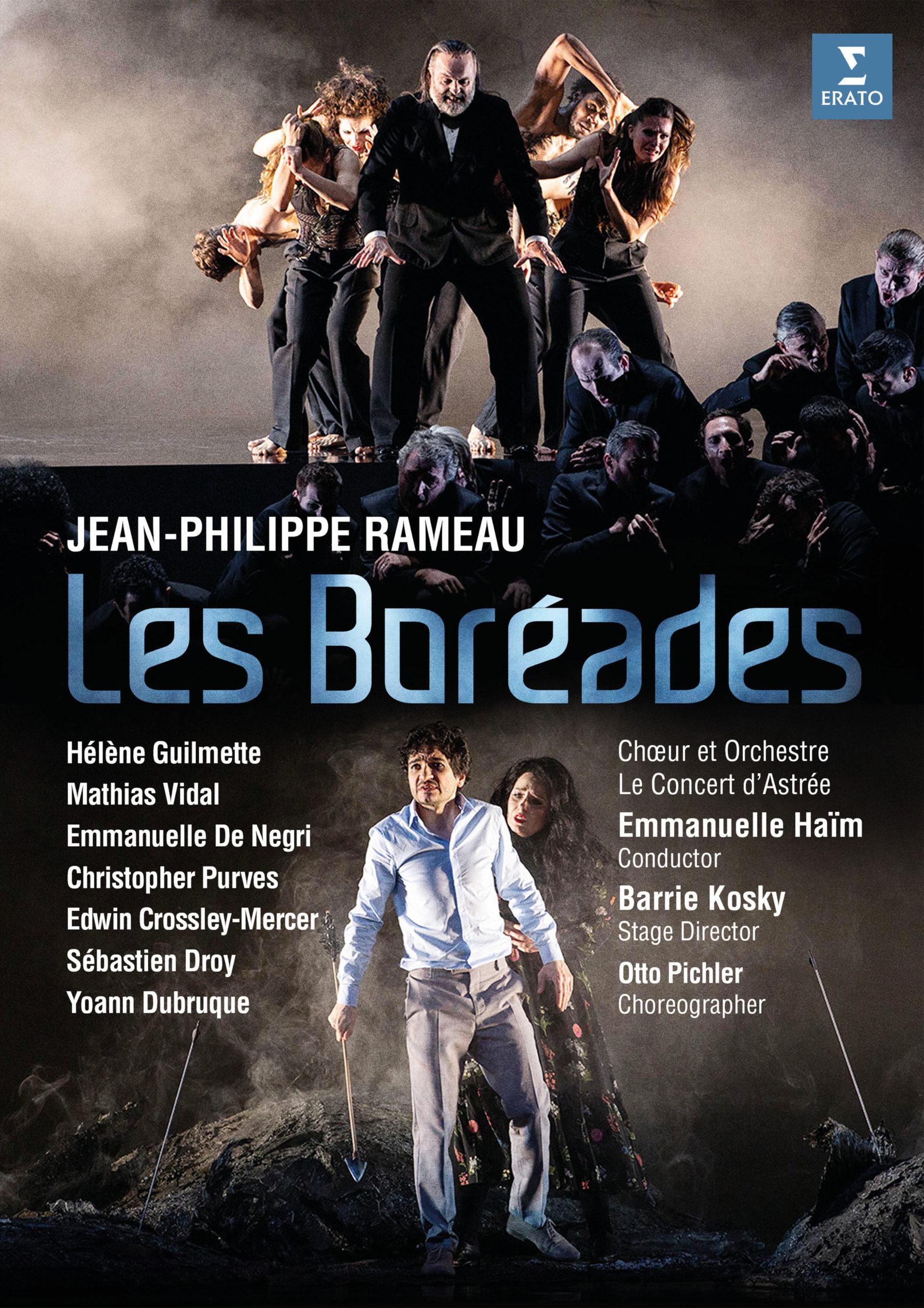 Cover DVD Les Boréades